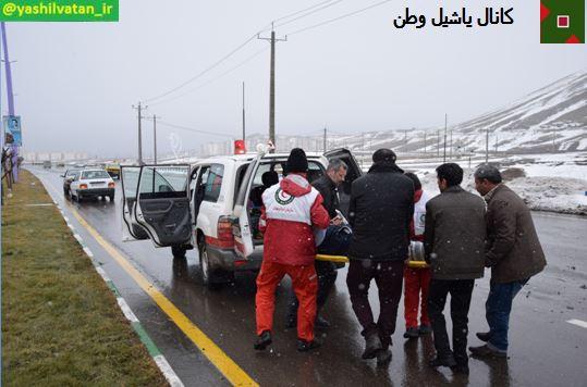 حادثه در مرند