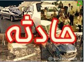 برخورد پراید و کامیون در جاده مرند - بازرگان باز هم حادثه ساز شد
