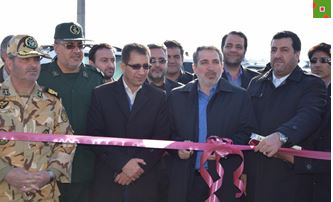افتتاح چندین پروژه عمرانی درمرند با حضور معاون سیاسی استاندار