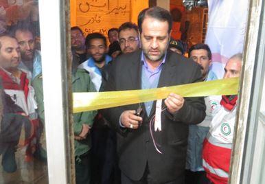 افتتاح پایگاه امداد و نجات روستایی در مرند