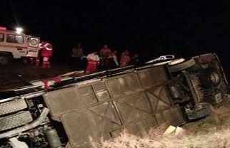 ? سانحه رانندگی در جاده مرند - تبریز ۱۳ مصدوم بر جای گذاشت + تصاویر
