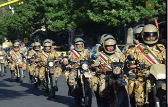 رژه موتورسواران مرند به مناسبت سوم خرداد + تصاویر