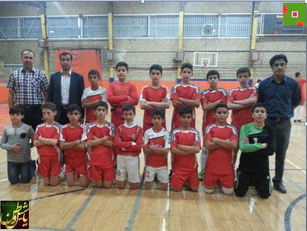 پیروزی تیم فوتبال منتخب مرند در مقابل تیم منتخب استان