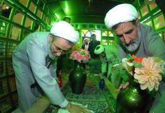 غبارروبی امام زاده سید احمد (ع) مرند + تصاویر