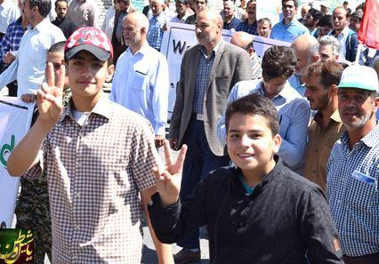 راهپیمایی روز قدس ۹۵ در مرند برگزار شد + تصاویر