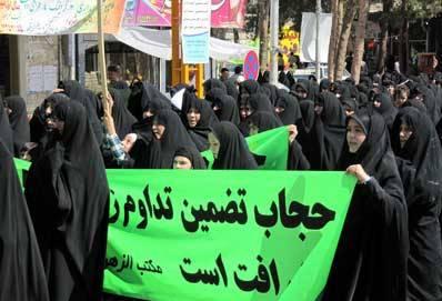 راهپیمایی روز عفاف و حجاب در مرند برگزار می شود