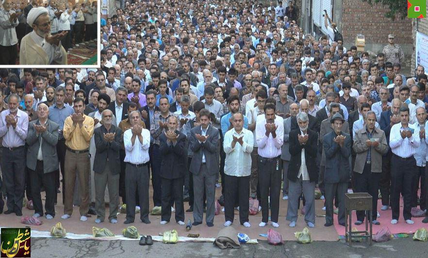 نماز عید فطر در مرند + تصویر