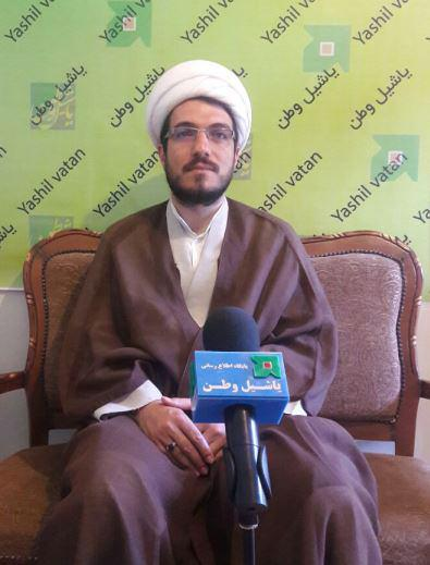 گفتگو با روحانی مجری برنامه شب های آسمانی در مرند