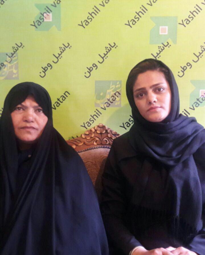 گفتگوی یاشیل وطن با خانواده آتش نشان جان باخته در مرند