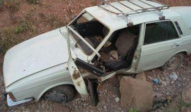 واژگونی دو خودرو در مرند ۴ کشته و مجروح به دنبال داشت + تصاویر