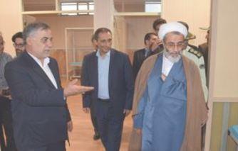 موسسه فرهنگی ورزشی و توانبخشی بنیاد شهید و امور ایثارگران مرند افتتاح شد
