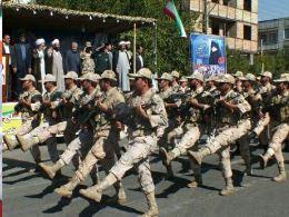 مراسم رژه نیروهای مسلح شهرستان جلفا + تصاویر