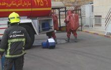 ۷ کشته و مصدوم بر اثر استنشاق مواد اسیدی در کارخانه تصفیه روغن/مصدوم شدن ۳ آتش نشان+ تصاویر