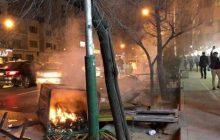 حمله اوباش به اماکن و اموال عمومی در تهران/ مردم صف خود را از اغتشاشگران جدا کردند +عکس