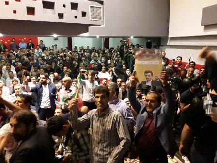 سه خط تبلیغی دولت یازدهم علیه دولت نهم و دهم از نگاه احمدی نژاد/ استقبال پرشور از صاحب شعار  ما می توانیم