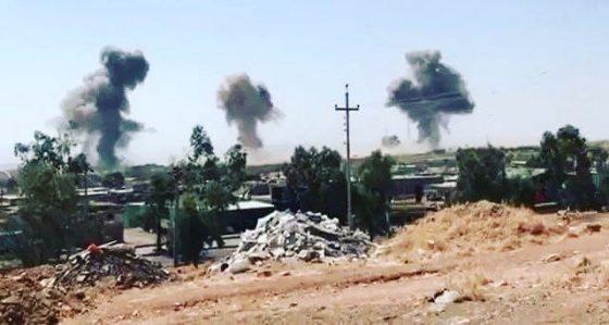 اصابت ۵ موشک به مقر تروریستها در خاک اقلیم کردستان/ چندین کشته و زخمی گزارش شده است