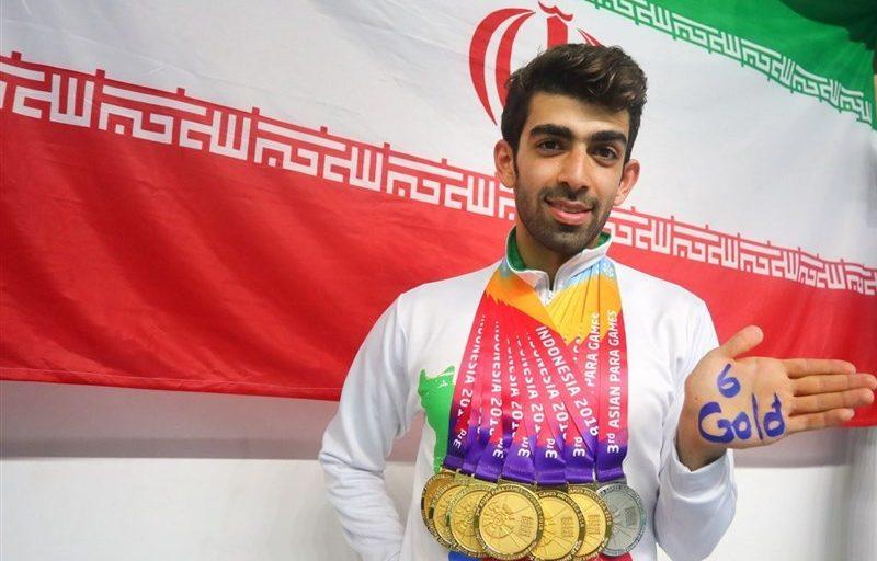 پایان بازیهای پاراآسیایی ۲۰۱۸ با رتبه سومی ایران + اسامی مدالآوران و جدول