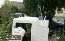 نصب دستگاه زلزله نگار در مرند